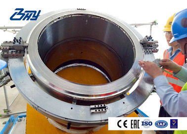 OD mounted Hydraulic Pipe Cutting And Beveling Machine Cold Cutting for Oil & Gas pipeline repaire